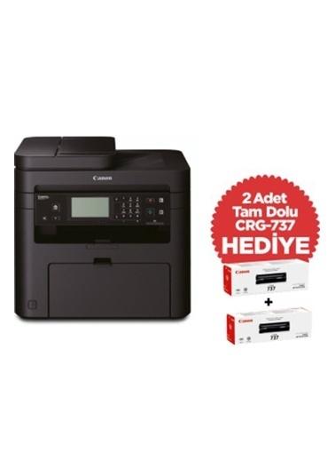 Canon Mf237W Lazer Yazıcı Tarayıcı Fotokopi Fax Wifi Lan + 2 Adet Crg737 Toner Hediye Renkli